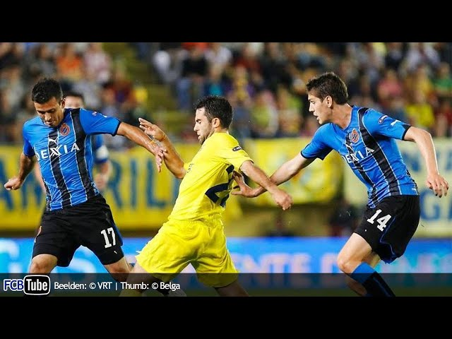 2010-2011 - Europa League - 04. Groep D Match 2 - Villareal CF - Club Brugge 2-1