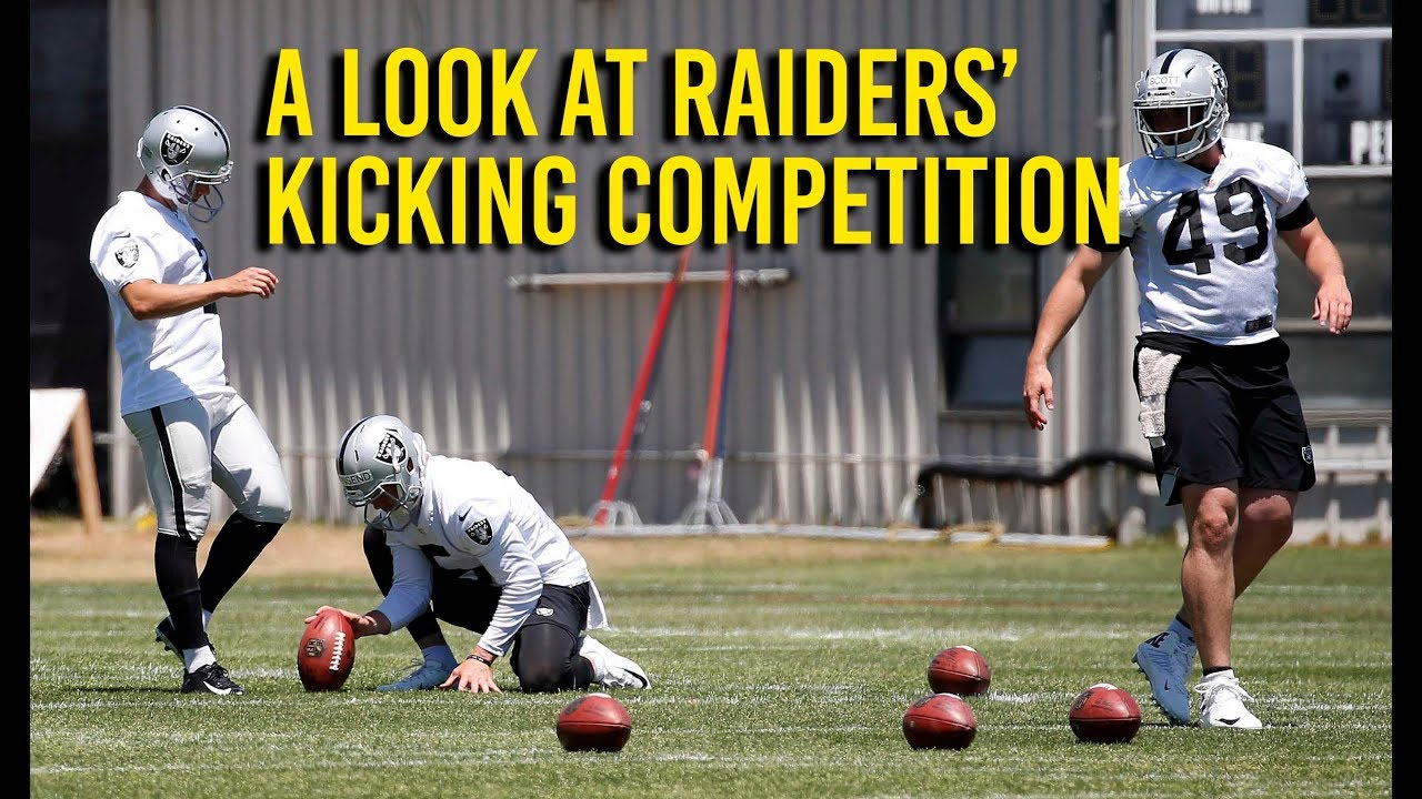 raiders-special-teams-coach-rich-bisaccia-on-kicker-competition