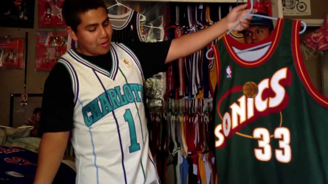 NBA Jersey Collection Vintage Rare Throwback - YouTube 5057a6d50