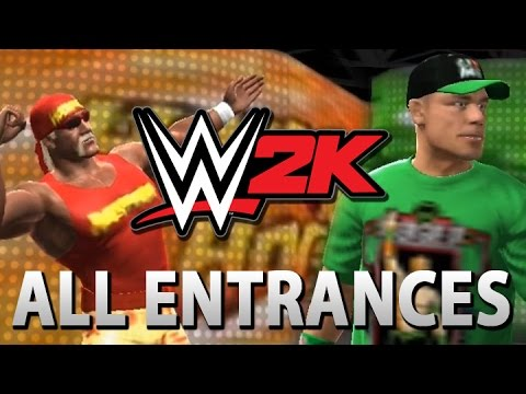 WWE 2K: All Entrances! (New WWE Mobile Game)
