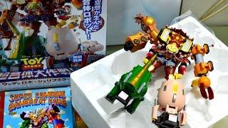 Khui đồ chơi Robo Câu Chuyện Đồ Chơi Chogokin Toy Story Woody Robo Sheriff Star Unboxing