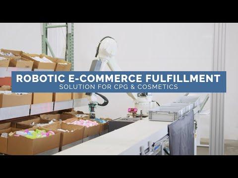 Dexterity's Robotic E-Commerce Fulfillment Solution for Cosmetics & CPGs