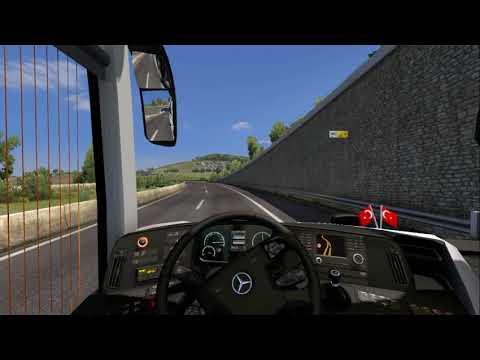 ETS2-Mercedes Benz Yeni Travego 16 SHD-İstanbul Yolculuğu