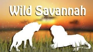 Roblox Wild Savannah - Gnu, Marabu e Crocodilo