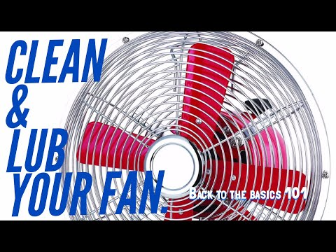 Service your FAN,Clean and lube your fan