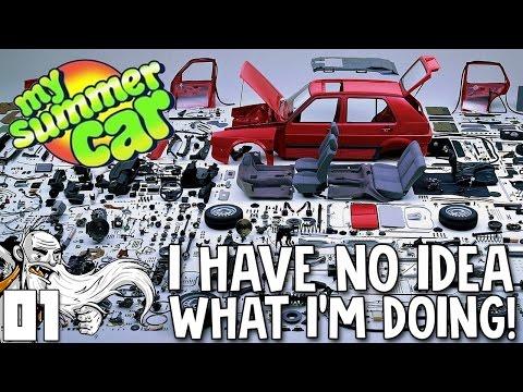 My Summer Car Gameplay Part 1 Get So Rekt Literally Let S