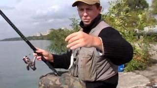 видео Ловля на болонскую удочку