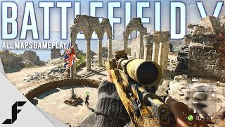 Battlefield 5 All Maps Gameplay and Info