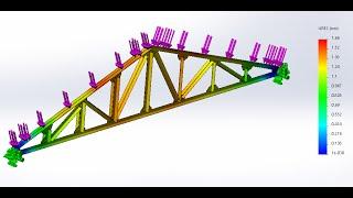 видео Стропильные фермы деревянные:расчет и конструирование, усиление