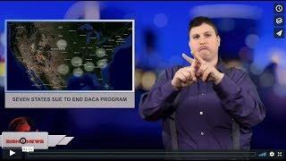 Seven states sue to end DACA program (ASL - 5.2.18)