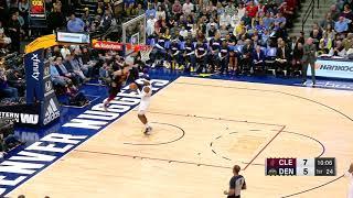 2nd Quarter, One Box Video: Denver Nuggets vs. Cleveland Cavaliers