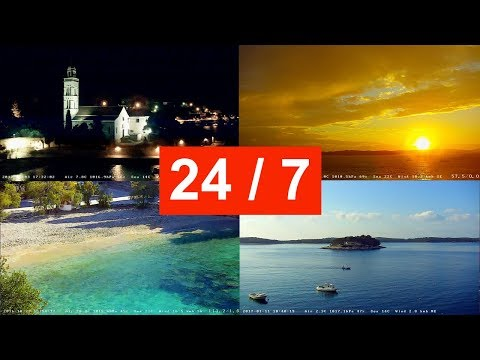 Hvar, Croatia LIVE 24/7 WebCam (BACKUP CAM)