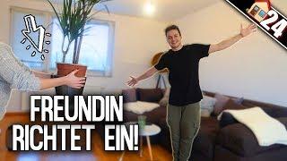 WOHNUNG einrichten mit FREUNDIN! ❤️ Endlich Möbel! | Max und Chris