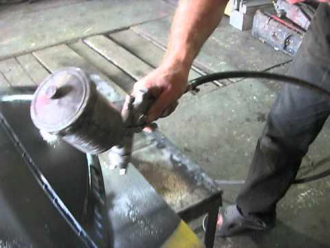 Ремонт скутера. Грунтовка пластиковых деталей скутера