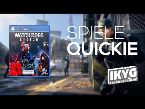 Watch Dogs: Legion - Spiele-Quickie