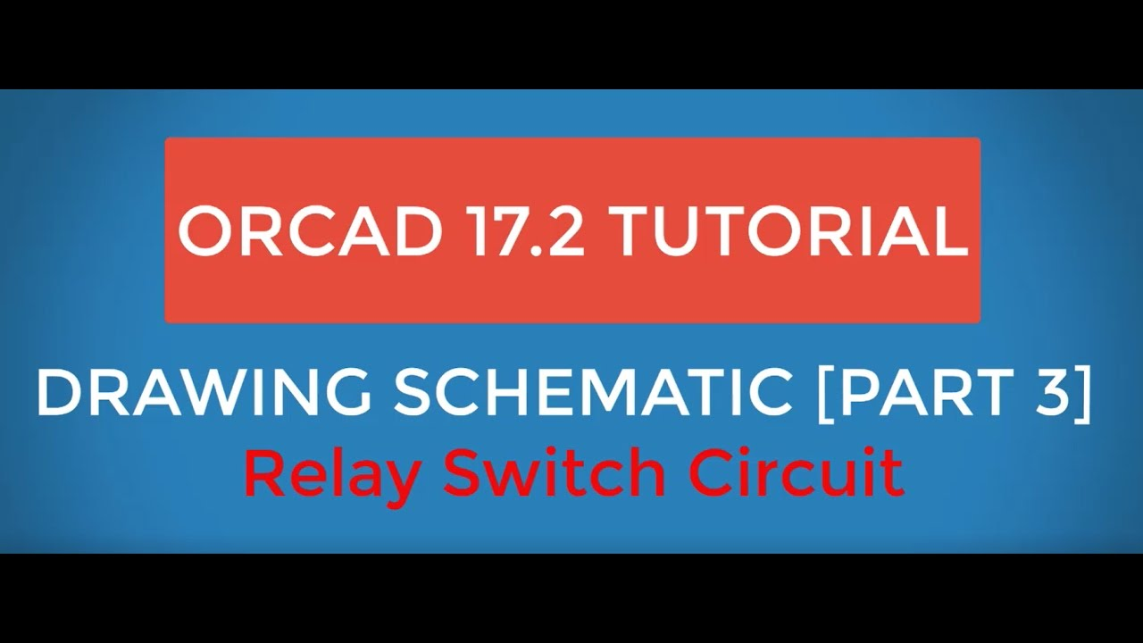 Ocad 172 Tutorial Relay Switch Circuit Design Drawing Schematic Analysis Part 3