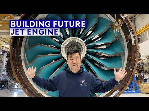 Inside Rolls Royce Factory - Building Future Jet Engine