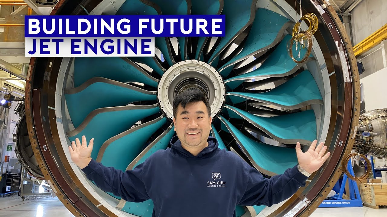 Inside Rolls Royce Factory - Building Future Jet Engines