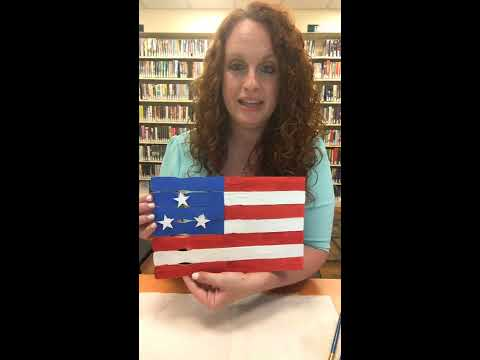 4th of July Flag Craft Instructional Video