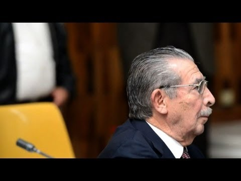 Former Guatemalan dictator goes on trial on genocide charges