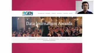 """Видеозапись вебинара """"Введение в дата-журналистику"""" на казахском языке"""