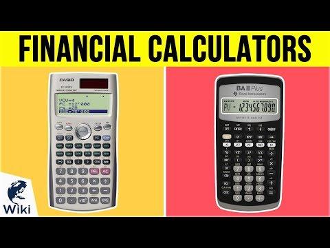 8 Best Financial Calculators 2019
