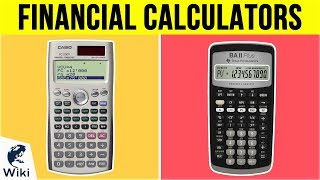 8 Best Financial Calculators 2019
