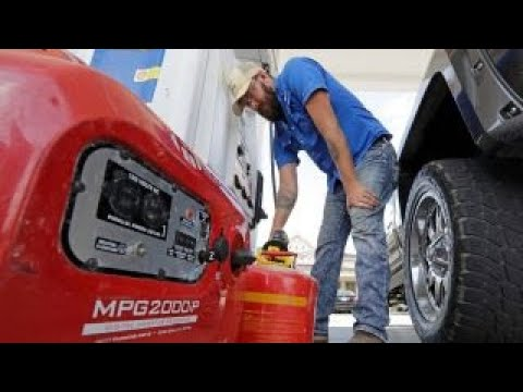 Hurricane Harvey's impact on Labor Day Weekend gas prices