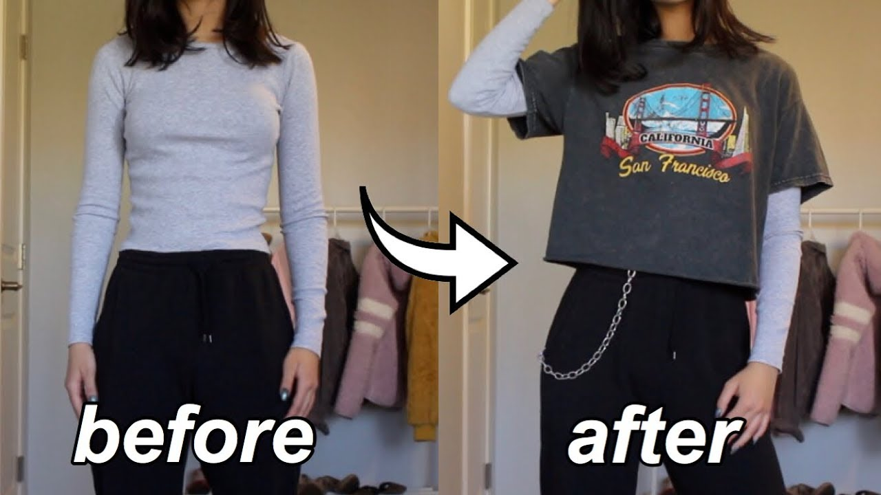 how to make basic outfits look trendy