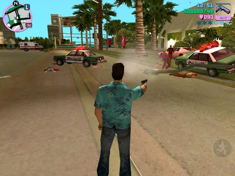Gta Vice City Game Play Pc Youtube