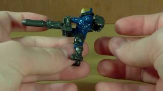 Halo Mega Bloks (Series 2) - UNSC Blue Flame Marine Review