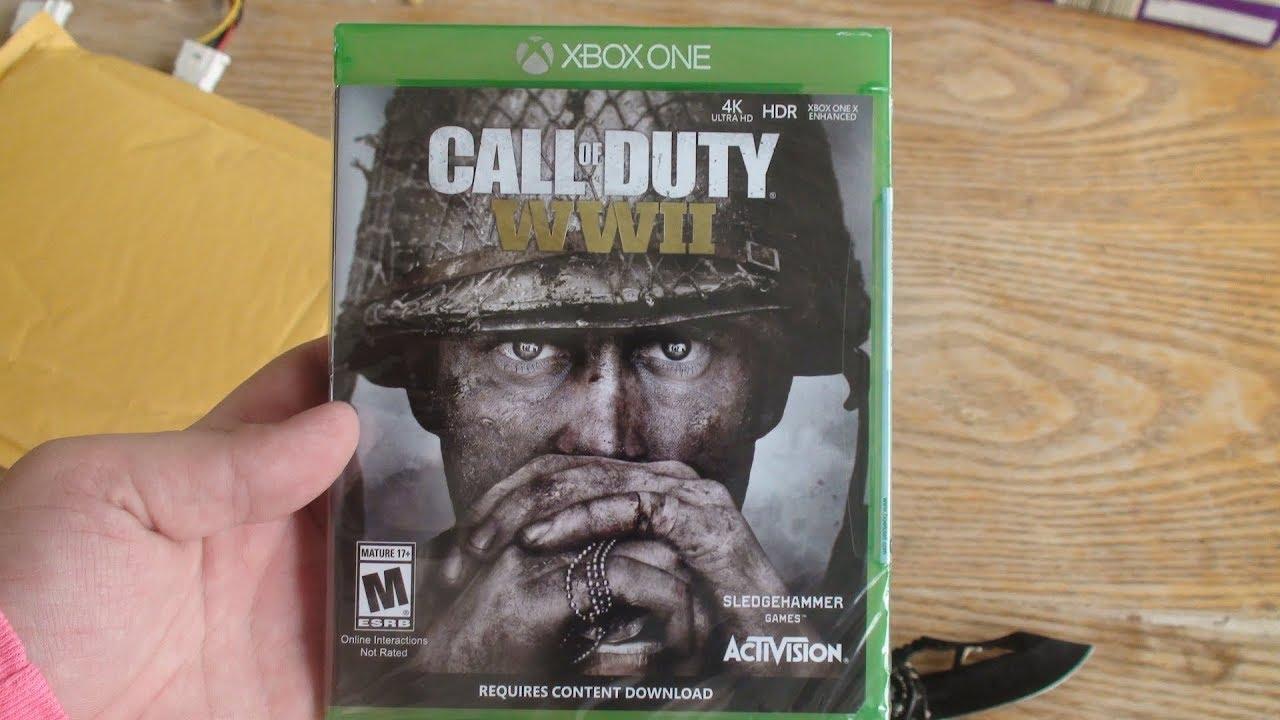 call of duty ww2 ps4 cd
