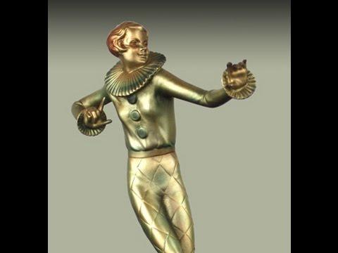 An Art Deco Bronze Figure By Josef Lorenzl, Vienna