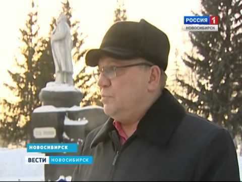 В первомайском районе Новосибирска вандалы разрисо