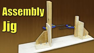 In this video I show you how to build a homemade project assembly jig. For most woodworking who are working alone in their