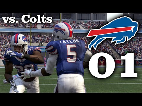 Madden 16 Bills Connected Franchise: Week 1 vs. Colts [Season 1]