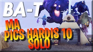 The end of my storm shields! Hardis Peaks 10! [Fortnite save the world]