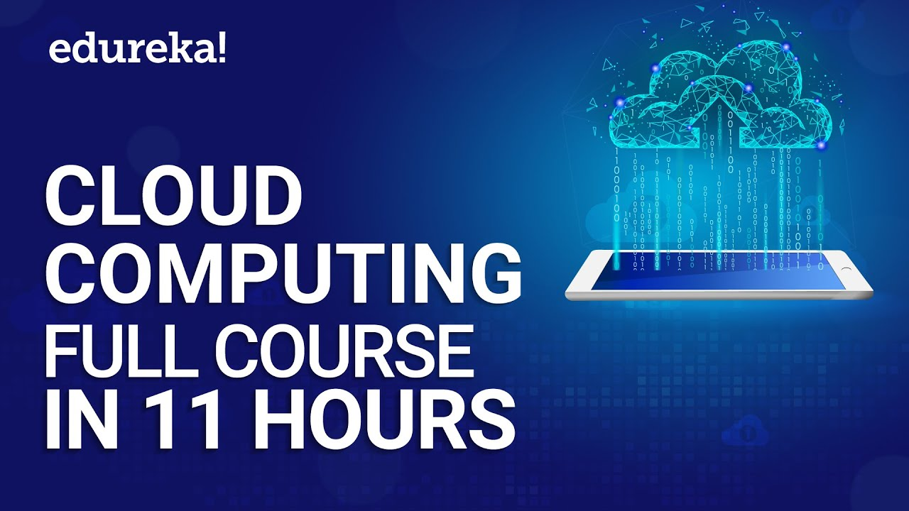 Cloud Computing Full Course | Cloud Computing Tutorial For Beginners