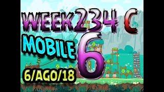 Angry Birds Friends Tournament Level 6 Week 324-C  MOBILE Highscore POWER-UP walkthrough
