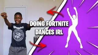 1 KILL = 1 REAL LIFE FORTNITE EMOTE! (Fortnite: Battle Royale)
