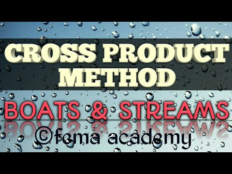 Boats and Streams | Cross Product Method| Aptitude Shortcuts and Tricks