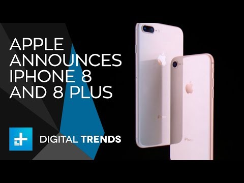 Apple iPhone 8 and 8 Plus - Full Announcement From Apple's 2017 Keynote