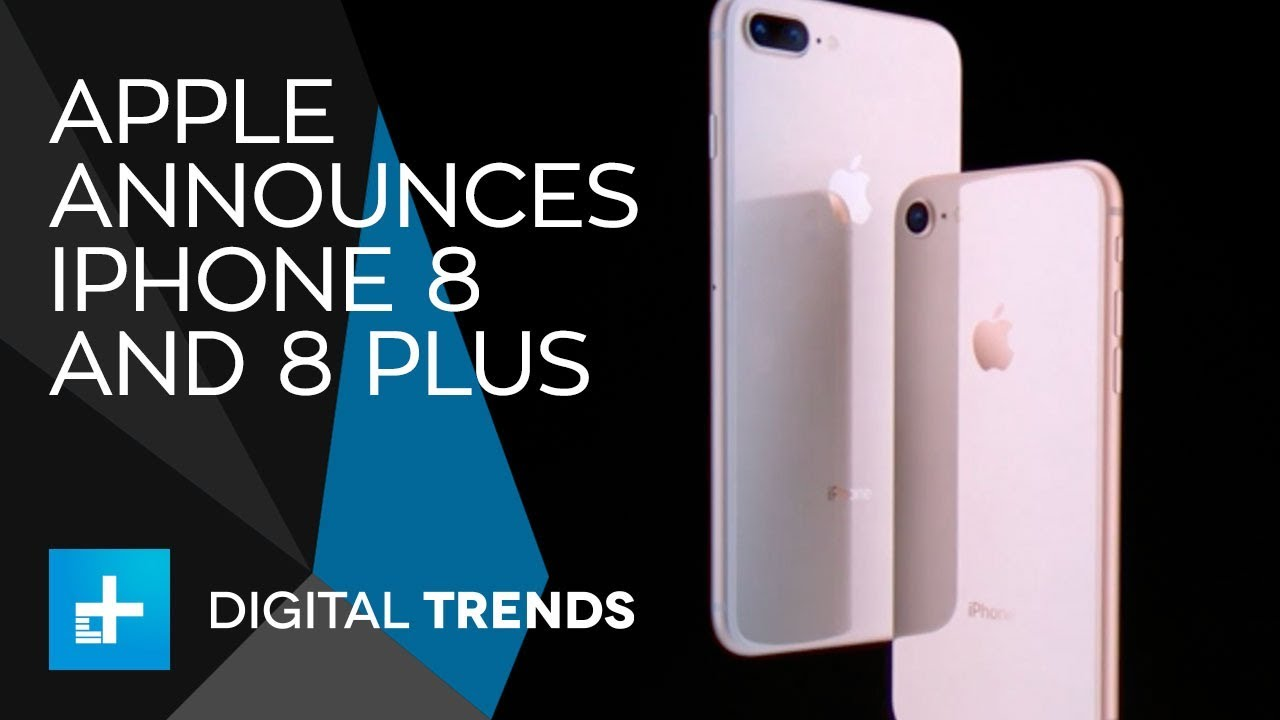 Apple iPhone 8 and 8 Plus – Full Announcement From Apple's 2017 Keynote