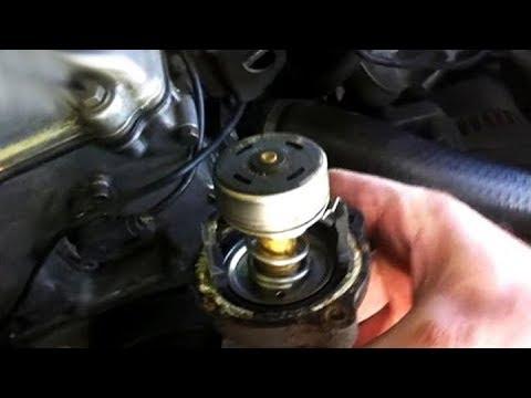 Замена термостата двигателя BMW м43