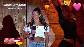 Sarah Lombardi - Te amo mi amor (Schlager, Stars & Sterne 2020)