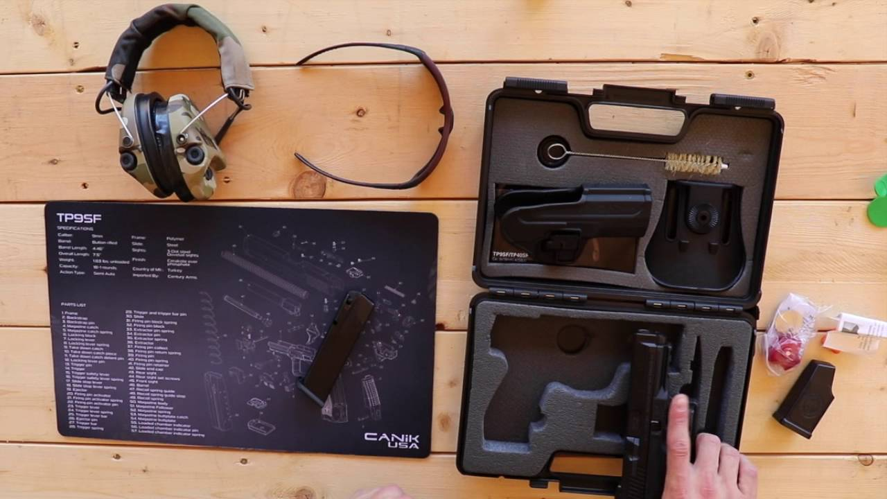 Canik TP9SF Unboxing and Shooting