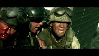 Black Hawk Down (2001) Star 4-1 Little Bird Evacuation Scene