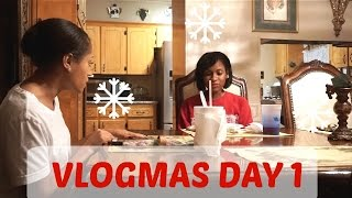 Vlogmas 2015- Day 1 (Looks Will Only Get You So FAR)