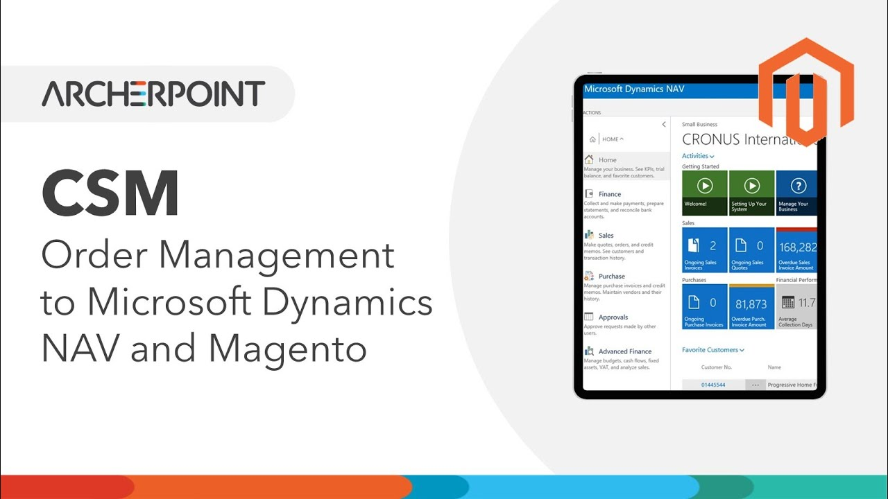 channel sales manager magento order mgmt to microsoft dynamics nav
