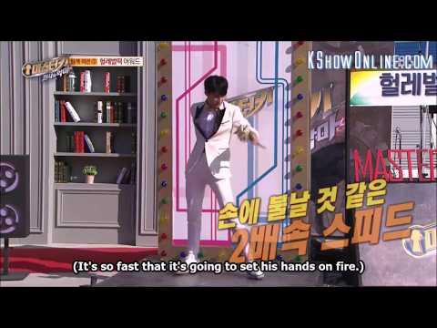 Seventeen's Mingyu in Master Key dancing 'Clap' 2x speed
